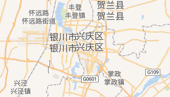银川市 - 在线地图