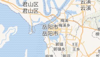 岳阳市 - 在线地图