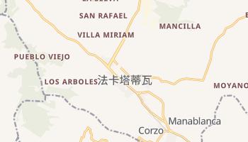 法卡塔蒂瓦 - 在线地图