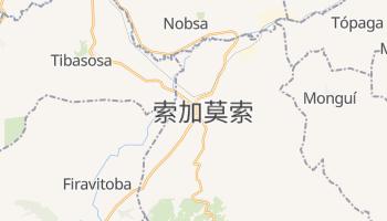 索加莫索 - 在线地图