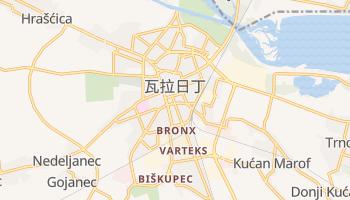 瓦拉日丁 - 在线地图