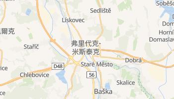 弗里代克-米斯泰克 - 在线地图
