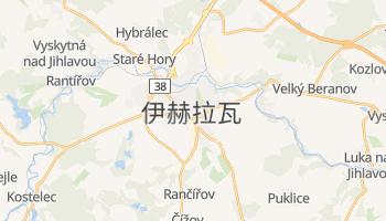 伊赫拉瓦 - 在线地图
