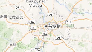 布拉格 - 在线地图