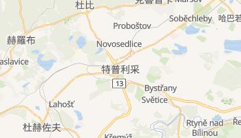 特普利采 - 在线地图