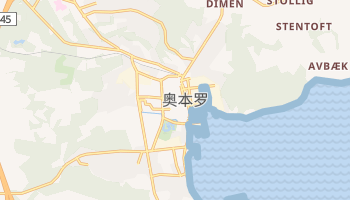 奥本罗 - 在线地图