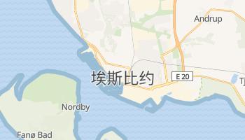埃斯比约 - 在线地图