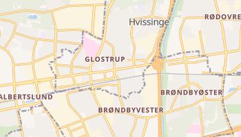 格洛斯楚普自治市 - 在线地图