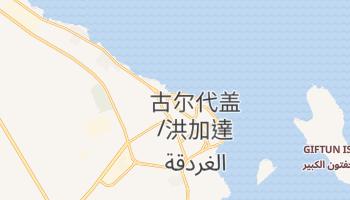 古尔代盖 - 在线地图