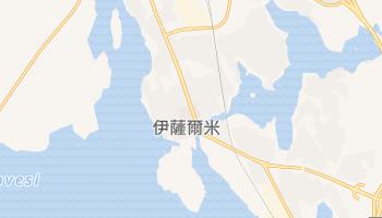 伊薩爾米 - 在线地图