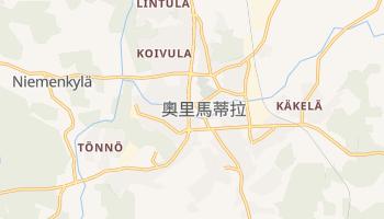 奧里馬蒂拉 - 在线地图