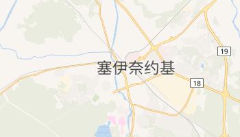 塞伊奈约基 - 在线地图