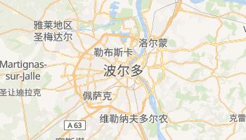 波尔多 - 在线地图