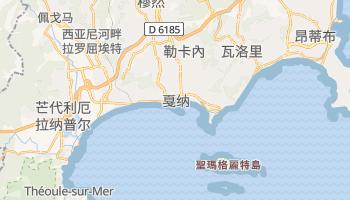 戛纳 - 在线地图