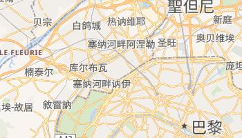 勒瓦卢瓦-佩雷 - 在线地图
