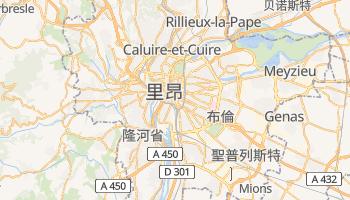 里昂 - 在线地图