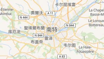 南特 - 在线地图