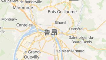鲁昂 - 在线地图