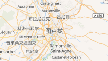 图卢兹 - 在线地图