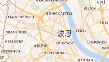 波恩 - 在线地图