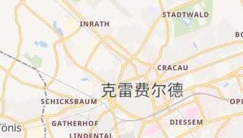 克雷费尔德 - 在线地图