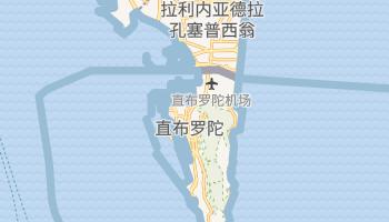 直布罗陀 - 在线地图