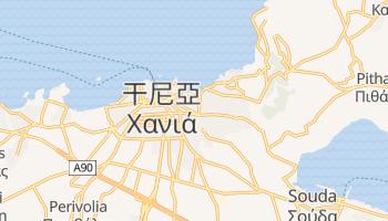 干尼亞 - 在线地图