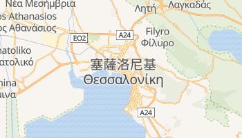 塞萨洛尼基 - 在线地图