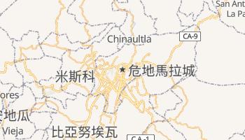 危地马拉 - 在线地图
