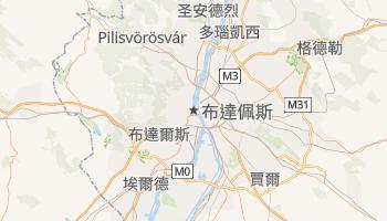 布达佩斯 - 在线地图