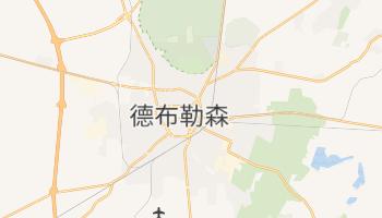 德布勒森 - 在线地图