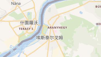 艾斯特根 - 在线地图
