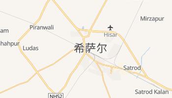 希萨尔 - 在线地图