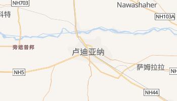 卢迪亚纳 - 在线地图