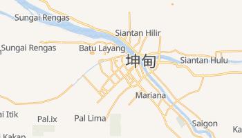 坤甸 - 在线地图