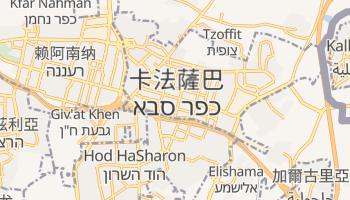 卡法薩巴 - 在线地图