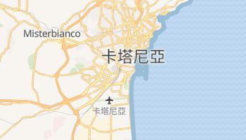 卡塔尼亞 - 在线地图