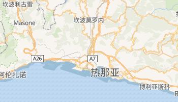 热那亚 - 在线地图