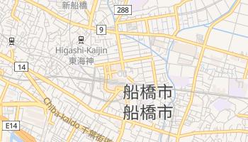 船橋市 - 在线地图