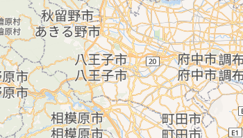 八王子市 - 在线地图