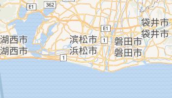 滨松市 - 在线地图