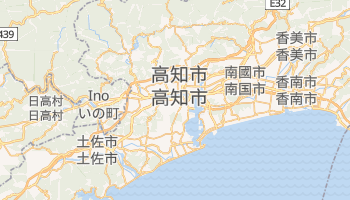 高知 - 在线地图