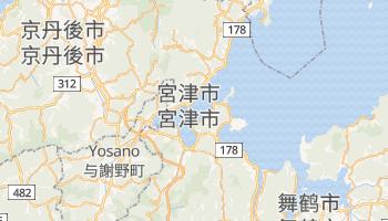 宮津市 - 在线地图