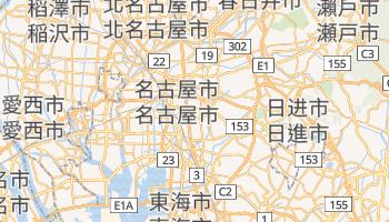 名古屋市 - 在线地图