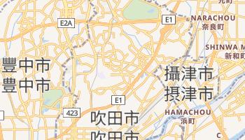 吹田市 - 在线地图
