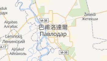 巴甫洛達爾 - 在线地图