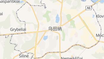 乌田纳 - 在线地图