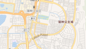 蒲種 - 在线地图