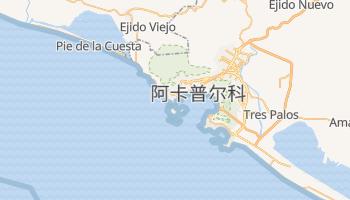 阿卡普尔科 - 在线地图
