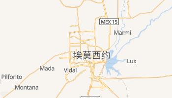 埃莫西约 - 在线地图